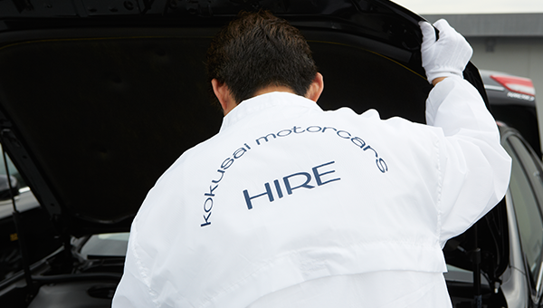 専属社員によるドライバー・車両の管理体制