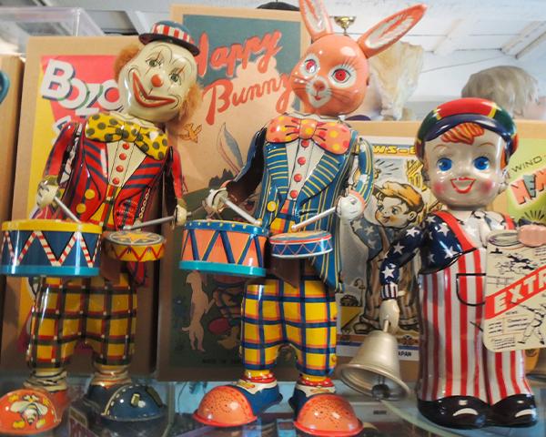 ブリキのおもちゃの博物館