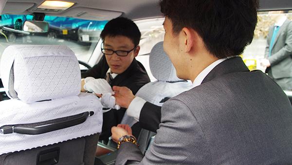 特徴2 便利で簡単、現金不要でスマートにタクシーをご利用できます。